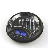 Electronic Ashtray Pocket Scale Measure Mini Compact Digital LCD Weigh 0.01-500g
