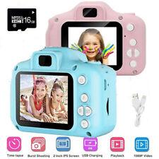 "Kids Digital HD Camera Video Recorder 2"" Display +16GB SD Card For Children"