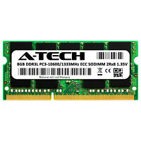 8GB ECC SODIMM DDR3L PC3-10600 Server Memory RAM for SuperMicro A1SAi-2550F