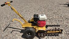 GROUNDHOG T4 TRENCHER WITH HONDA ENGINE