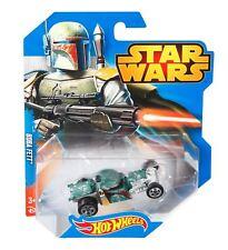 Hot Wheels Star Wars Voiture - Boba Fett - Asst. CGW35 CGW42 - Modèle Moulé