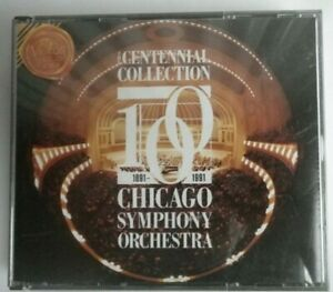 Chicago Symphony Orchestra - Centennial Collection  3 CD Fatpack