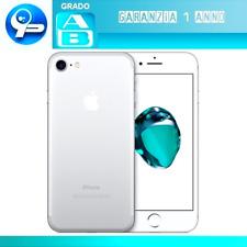 Apple iPhone 7 32GB Silver (Grado AB Reale) Originale Garanzia 1 Anno