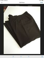 Focus 2000 Brown Woman's Pants Size 14 W Long 41 Inches