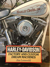 HARLEY DAVIDSON Book Factory & Custom Dream Machines 160 pgs Pictures J Lensveld