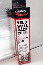 Feedback Bike Storage Rack Velo Wall Rack 2D Silver