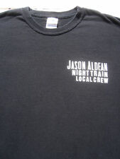 JASON ALDEAN Night Train Tour Local concert Crew XL T-SHIRT