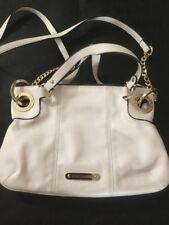 JUICY COUTURE - White Crossbody Chain Handbag Purse Zip Top