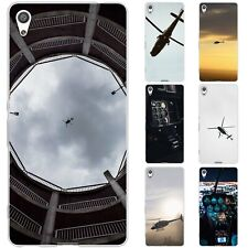 Dessana Helicopter TPU Silicone Protective Case Case Pouch Cover For sony