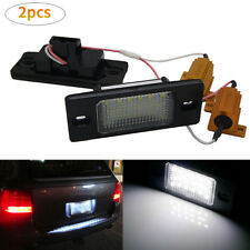 18SMD LED License Plate Light For PORSCHE CAYENNE 2002-2010 2003 2005 New