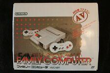 Nintendo AV Famicom (NES) Console - open box NOS