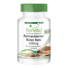 Fermentierter Roter Reis 600 mg - 120 Kapseln | Monacolin K | VEGAN | fairvital