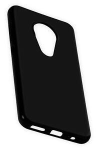 Silikon TPU Dark Case Schutz Handy Hülle Case Cover für Nokia 7.2 - 6.2