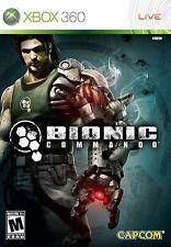 XBOX 360 Bionic Commando Video Game capcom online mulitplayer fun 1080p COMPLETE