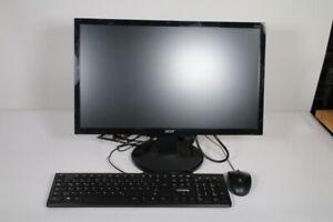 "Acer K222HQL Monitor - 54.6 cm (21.5"") inkl. Raspberry pi"