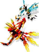 CUSTOM LEGO NINJAGO DRAGON MINIFIGURES BUNDLE TOY MINI-FIGS NINJA MINI FIGURES