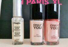lot 3 vernis à ongle Ici Paris XL 2 Only You naturel nacré et 1 french manicure