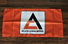 New Allis-Chalmers Banner Flag Tractor Farm Machine Earth Mover Man Cave Barn