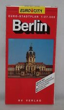 Germany - Euro City 1:27,500 City Map - Berlin - 1993
