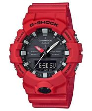 BRAND NEW CASIO G-SHOCK GA800-4A RED/BLACK ANA-DIGI MENS WATCH NWT!!!