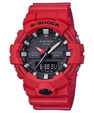 Casio G-shock Ga800-4a Shock Resistant Mens Red Digital Analog Watch