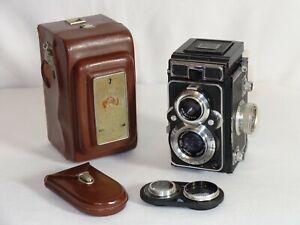 Vintage Zeiss Ikon Ikoflex TLR Camera With Ikoprox