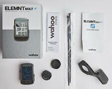 Wahoo ELEMNT BOLT GPS Bike Cycling Computer w/ Mount Bundle Element In Box!