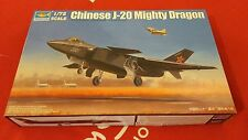 Trumpeter - Chinese J-20 Mighty Dragon -1:72, 01663 Military Aircraft Models