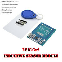 MFRC-522 RFID IC Card Inductive Sensor Module+S50 NFC Card+Keyring For Arduino