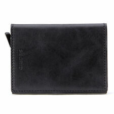 Secrid SC3980 Slim Leather Wallet - Black