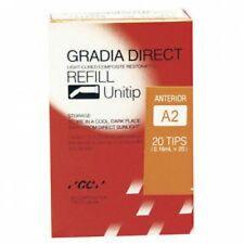 Gc 003334 Gradia Direct Hybrid Resin Composite Restorative Unitips A2 20pk