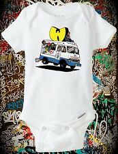 Onesie Wu Tang Ice Cream Truck (Baby shower, New Born, C.R.E.A.M., 36 Chambers)