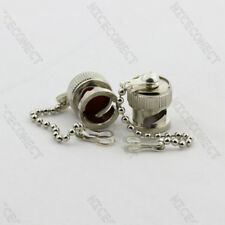 10x Protective Cover Dust Cap For BNC Female Cable Connector Without Center Pin