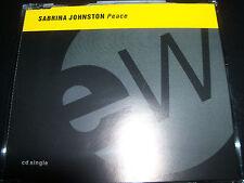 Sabrina Johnston Peace CD Single  Up for Grabs, Sabrina Johnston Peace CD Single
