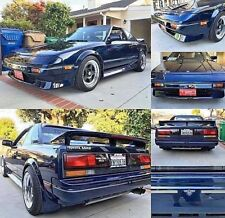 TOYOTA MR2 MK1 SUPERCHARGED / SUPERCHARGER STICKER SET AW11 SC 4AGZE STRIPES