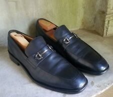 Cole Haan Martino Bit black leather Loafers Slip On Shoes Sz 10.5
