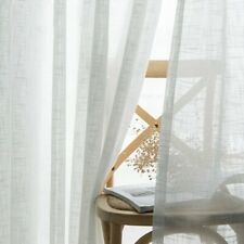 Window Curtains Blinds Drapes Tulle Living Room Kitchen Bedroom Sheer Screens
