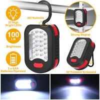 Emergency Lamp Tent Light Flashlight 27 LED Magnet Hook Outdoor Camping Hiking