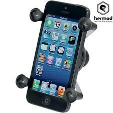 "Ram Mount Motorcycle Universal X-Grip GPS SAT Nav Phone Holder with 1"" Ball"