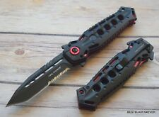 8.5 INCH TAC-FORCE SPRING ASSISTED TACTICAL KNIFE WITH POCKET CLIP