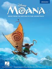 Moana for Ukulele Music Book - Music from the Moana Soundtrack