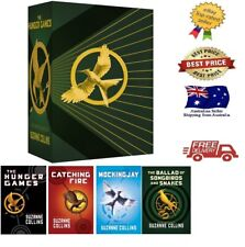 Hunger Games 4 Book Box Set by Suzanne Collins Paperback Book NEW