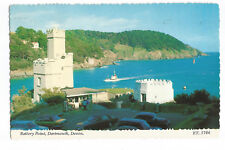 Postcard Battery Point Dartmouth Devon PM 1978   (A11)