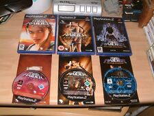 TOMB RAIDER ANGEL OF DARKNESS + legenda + ANNIVERSARIO... PS2 PLAYSTATION 2 GIOCHI