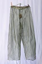Vintage Plastic Rubber Sports Pants Dead Stock sz L 40 - 42 Rain Hunting