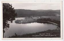 Lac Noir ST-JEAN-DE-MATHA Quebec Canada 1940-50s Carte Photo L. Charpentier 21