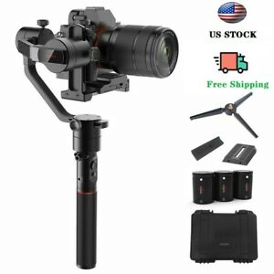 Used MOZA AirCross 3-Axis Gimbal Stabilizer for DSLR Camera Sony Pana GH3/4/5
