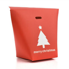 Christmas Paper Bags Boxes Favour Gifts Present Sweets Candy Carrier Xmas Party