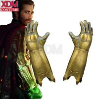 Spider-Man: Far From Home Quentin Beck arm Mysterio Gauntlet Cosplay Gloves Prop