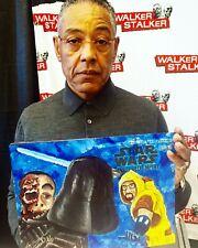 Giancarlo Esposito signed original Star Wars art Moff Gideon auto Mandalorian